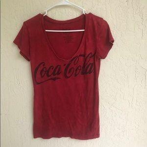 Coca Cola Vintage Red Graphic T-shirt Medium